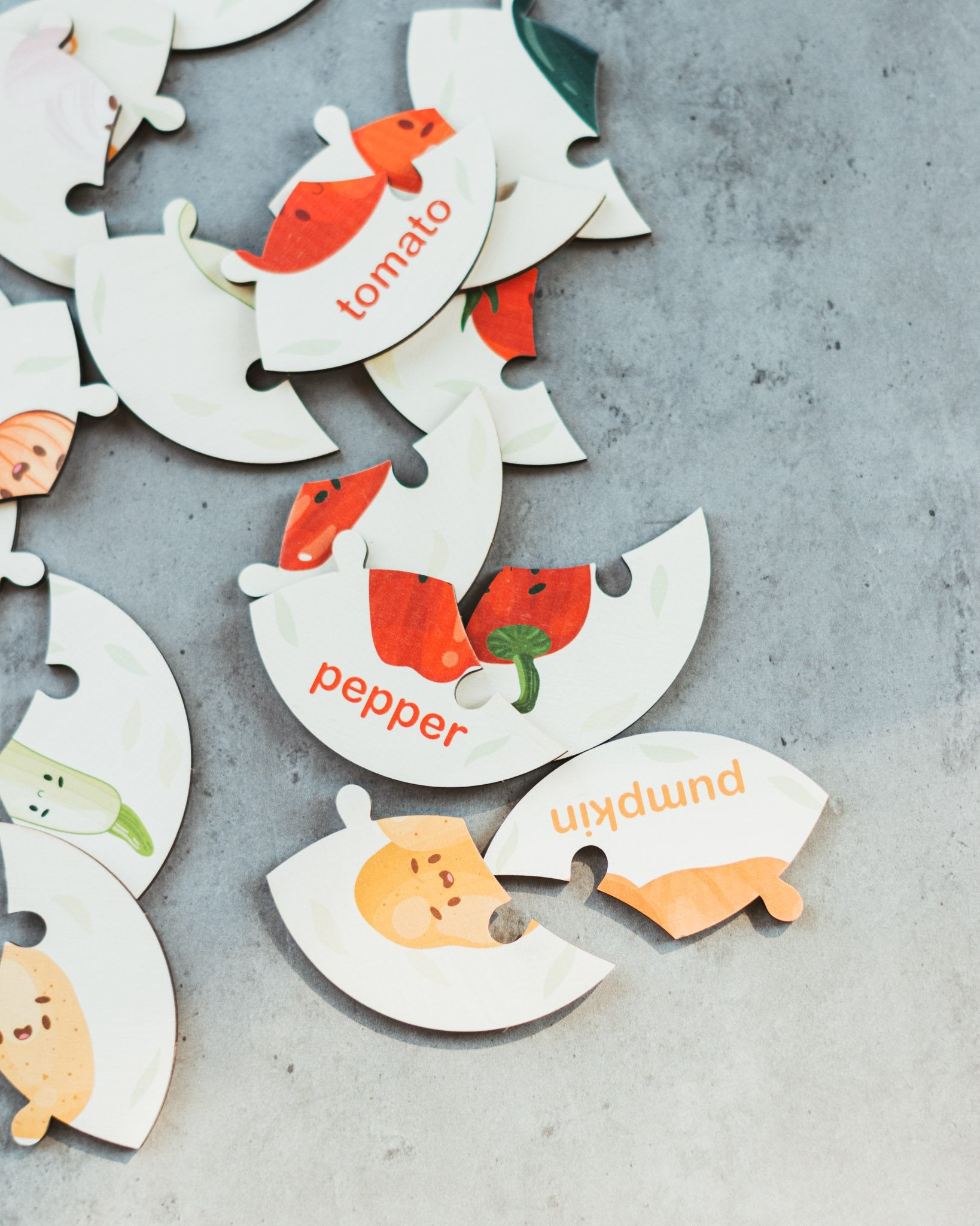 Copy of Animals Learn Words Puzzle