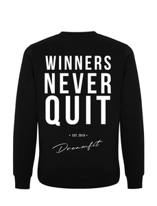 Sweater - Winners never quit