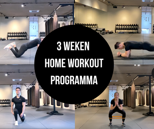 3 weken Home Workout programma