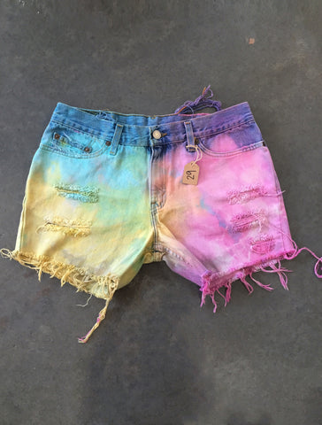 Tie-Dyed Distressed *Size 29*