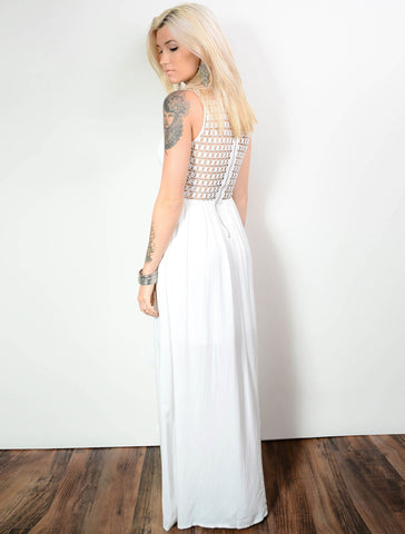 Burning Desire Cut Out Maxi