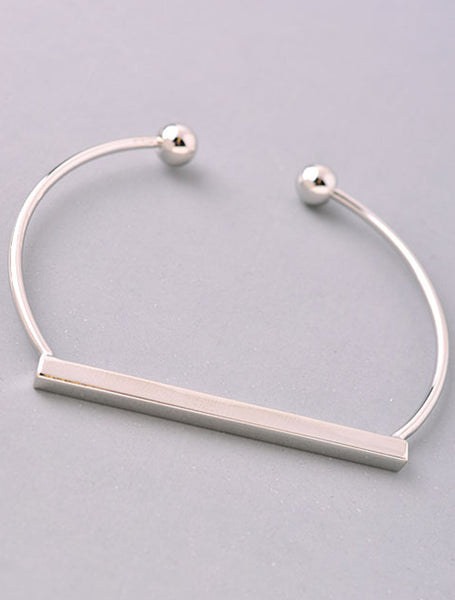 Delicate Rectangle Bracelet