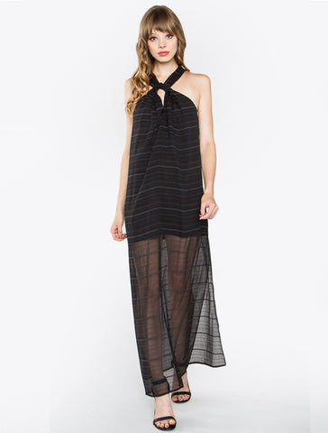 Blackout Maxi Dress