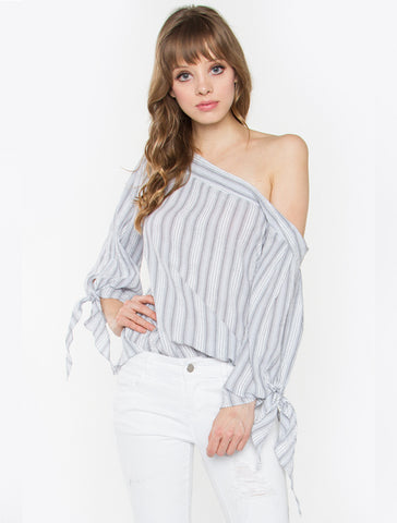 Anita One-Shoulder Top