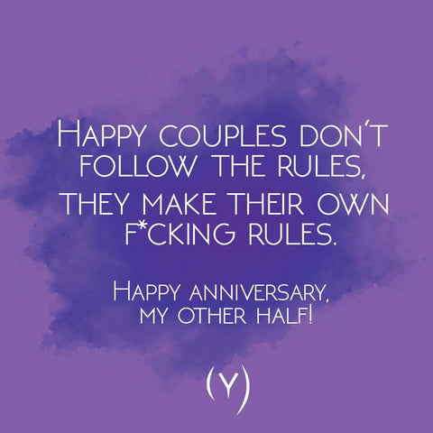 Happy couples anniversary quote