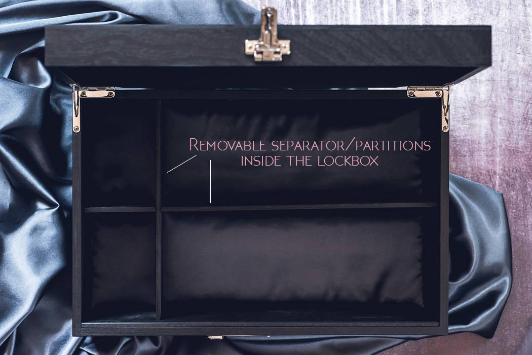 Lockable box features and benefits