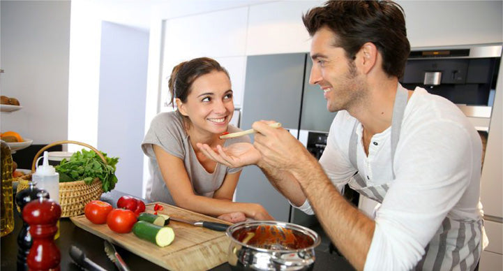 20 Quarantine Date Ideas for Couples at Home Fancy meal