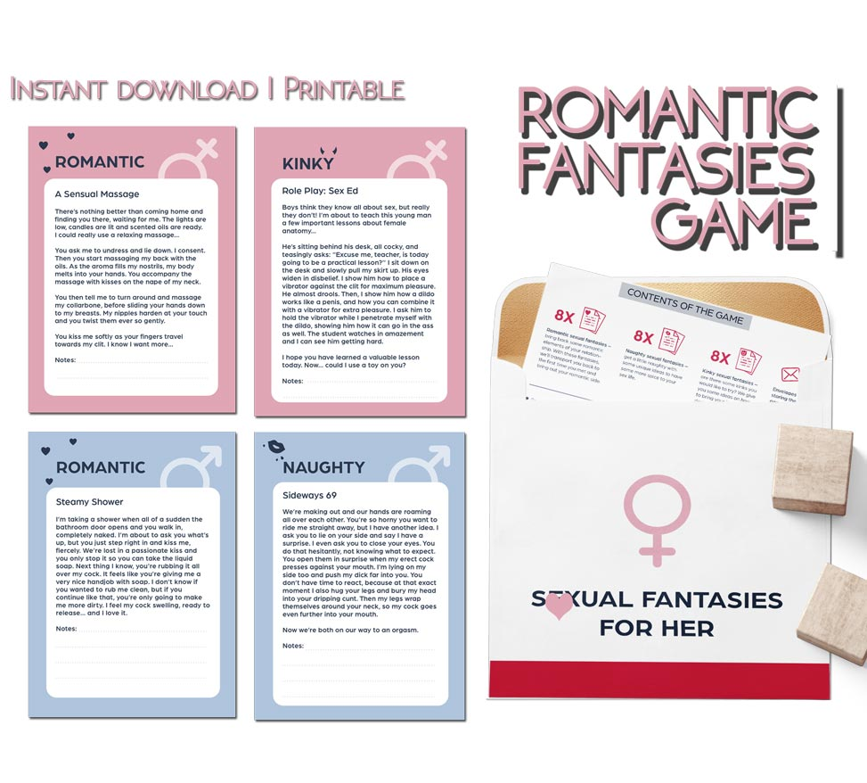 Romantic Fantasies game PDF