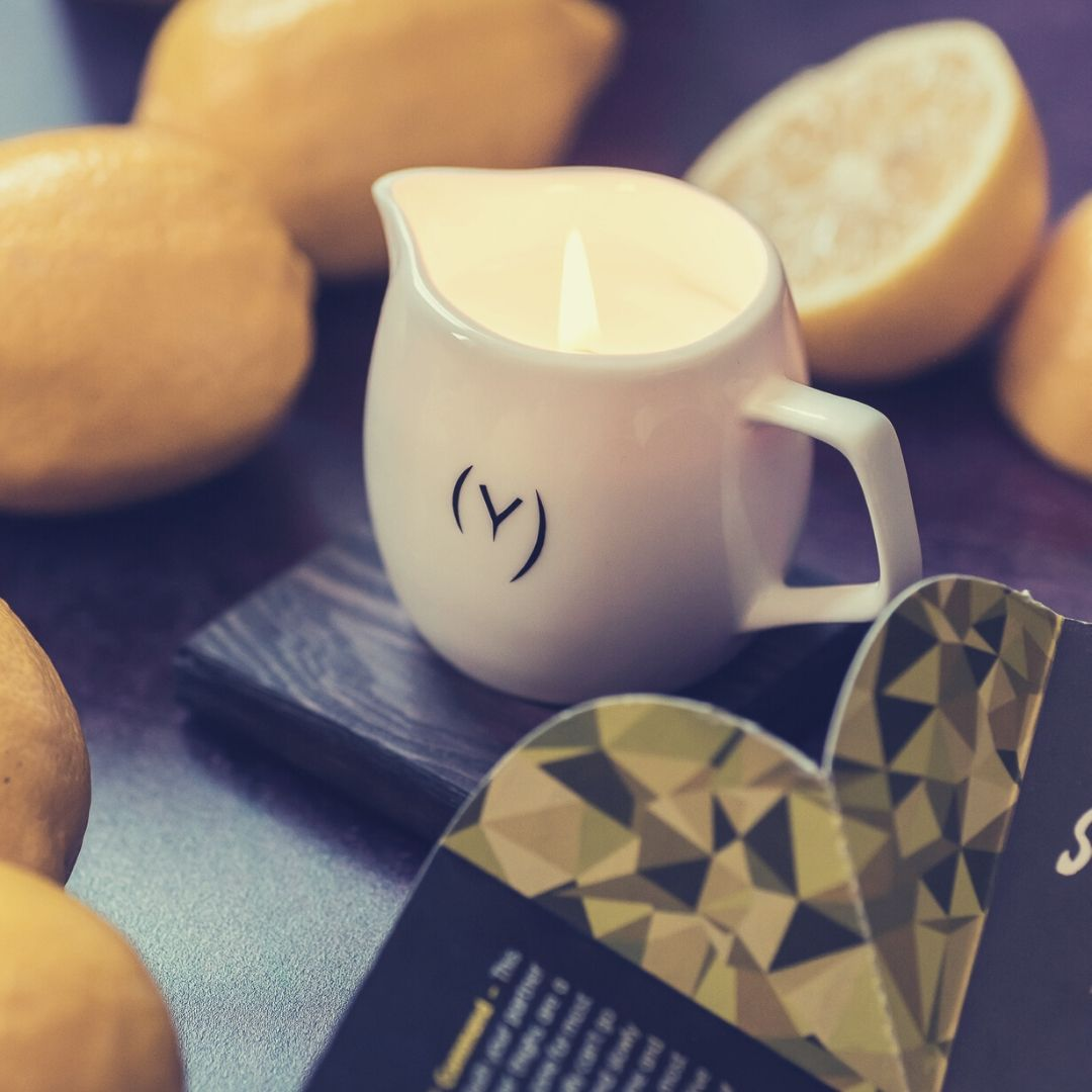 Liberating Lemon Massage Candle