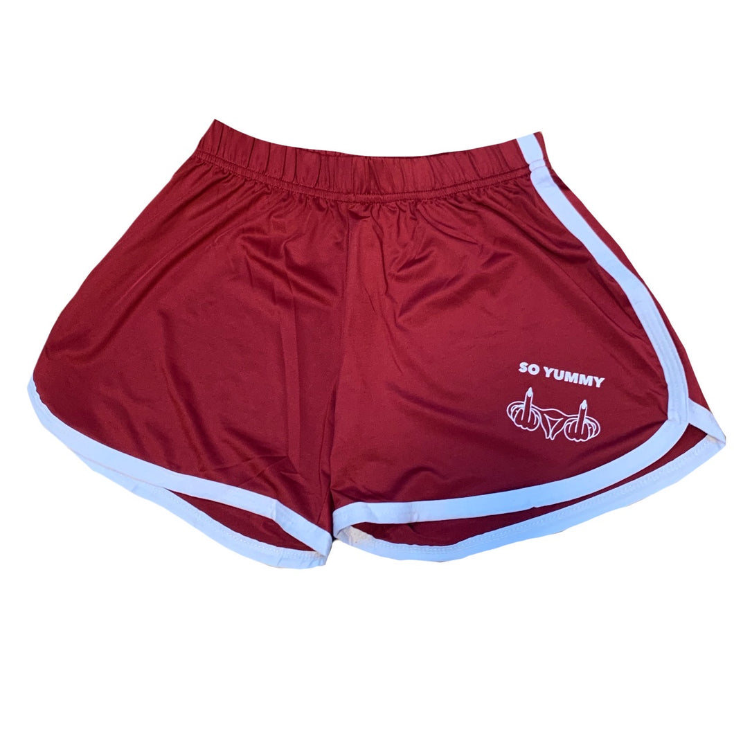 SO YUMMY Twerk Shorts (Red)