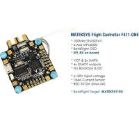 Matek System F411-One 30.5x30.5mm F4 Flight Controller With FrSky Rx