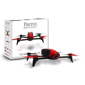 Parrot BeBop Drone 2 with 14 Megapixel Flight Camera (Red)