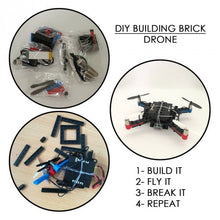 Load image into Gallery viewer, DIY Building Brick Drone Kit