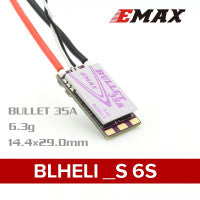 Load image into Gallery viewer, EMAX BLHELI_S Bullet Series 35A 3-6S ESC 6.3g Support Onshot42 Multishot