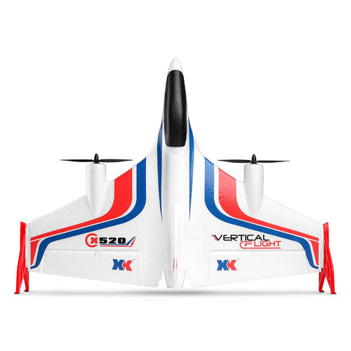 XK-X520 Vertical Takeoff Acrobatic RC Airplane - Hovers like a Drone