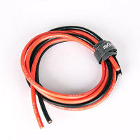 Silicone Wire - Red/Black 1 Meter