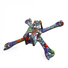 Load image into Gallery viewer, iFlight iX5 V3 X Hybrid FPV Racing Frame - Blue Standoff