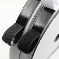 Load image into Gallery viewer, 1Mx25mm Hook and Loop Self Adhesive Fastener Strong Tape