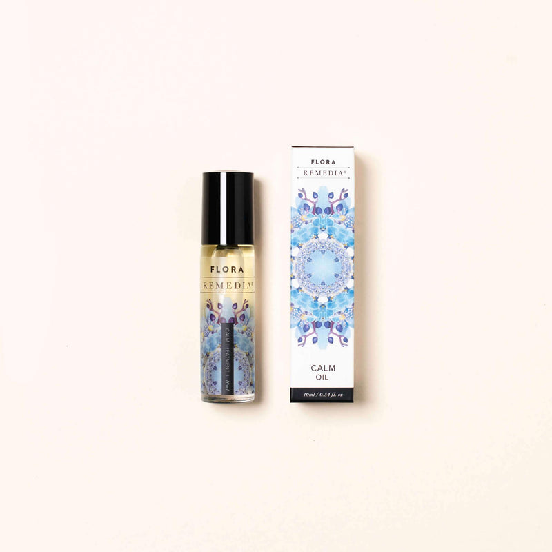 Calm aromatherapy roll on | Flora Remedia | Aromatherapy Clean Beauty Products | Skin Care Online