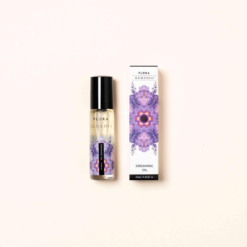 Dreaming aromatherapy roll on | Flora Remedia | Aromatherapy Clean Beauty Products | Skin Care Online