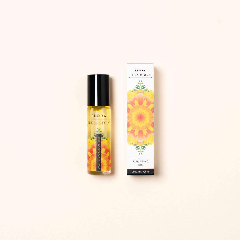 Uplifting aromatherapy roll on | Flora Remedia | Aromatherapy Clean Beauty Products | Skin Care Online
