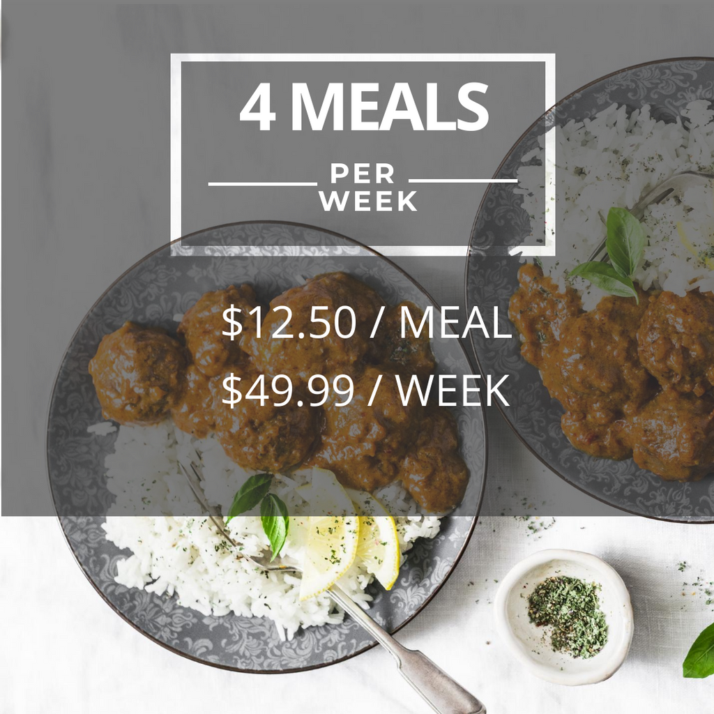 SpiceBokx | 4 Meals per Week Plan