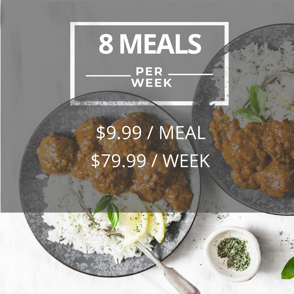 SpiceBokx | 8 Meals per Week Plan