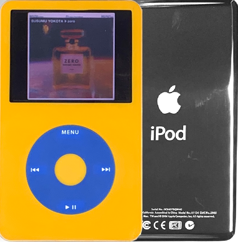 New Apple iPod Video Classic 5th & 5.5 Enhanced Yellow / Blue / Yellow