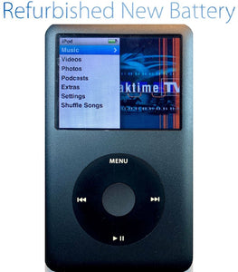 Refurbished Apple iPod Classic 6th 7th Generation 80GB 120GB 128GB 160GB - Charcoal Gray