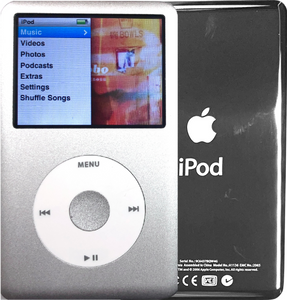 New Apple iPod Classic 6th & 7th Generation Silver / White / Silver