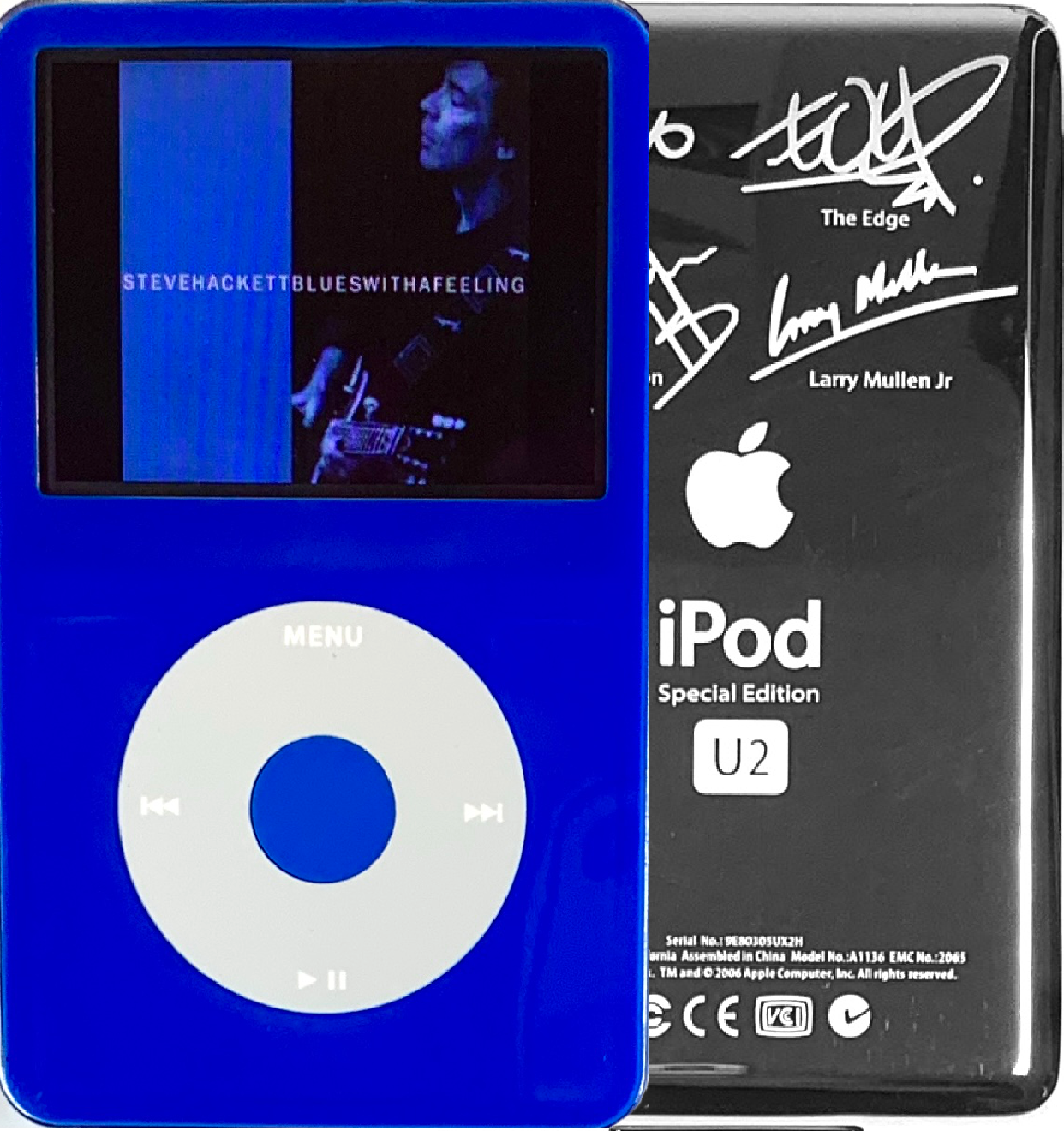New Apple iPod Video Classic 5th & 5.5 Enhanced Blue / Grey / Blue (U2 Special Edition Silver)