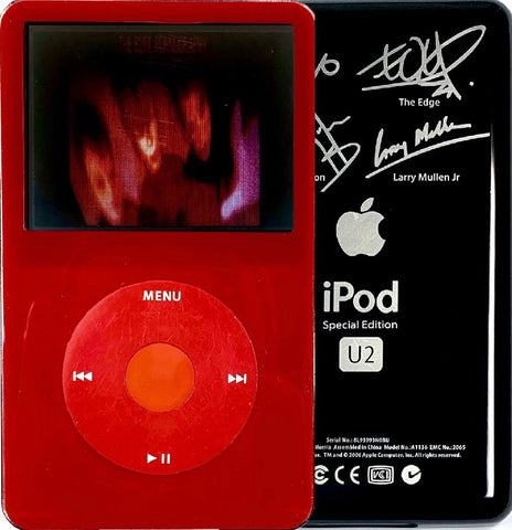 New Apple iPod Video Classic 5th & 5.5 Enhanced Red / Red / Red (U2 Special Edition Black)