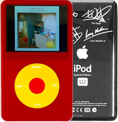 New Apple iPod Video Classic 5th & 5.5 Enhanced Red / Yellow / Red (U2 Special Edition Silver)