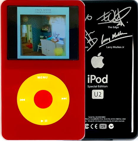 New Apple iPod Video Classic 5th & 5.5 Enhanced Red / Yellow / Red (U2 Special Edition Black)