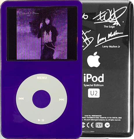 New Apple iPod Video Classic 5th & 5.5 Enhanced Purple / Grey / Purple (U2 Special Edition Silver)