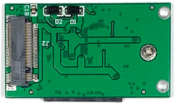 M.2 NGFF SSD to ZIF 40-Pin CE Adapter for Apple iPod Video & Classic (22mm x 42mm)