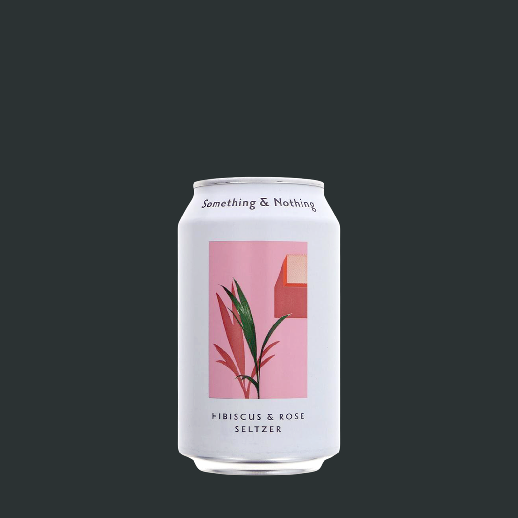 Hibiscus and Rose Seltzer