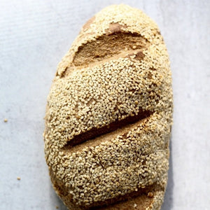 Gluten Free Bread - Sesame Seed, Keto and Paleo Friendly  (pack of 2 Loaves of 14,6oz/415g ea)