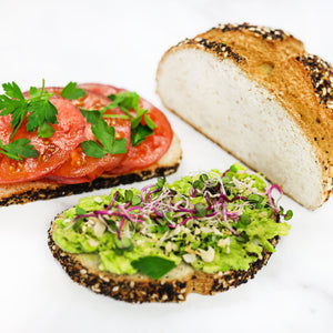 Gluten Free Bread - Everything Bagel Blend, Keto and paleo friendly (pack of 3 breads 14.6oz/415g ea)