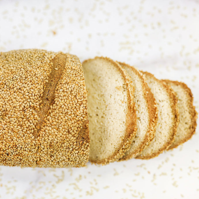 KETO, Gluten Free Bread - Sesame Seed (pack of 2 Loaves of 14,6oz/415g ea)
