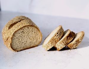 Gluten Free Bread - Sesame Seed, Keto and Paleo Friendly (pack of 3 Loaves of 14oz/415g ea)