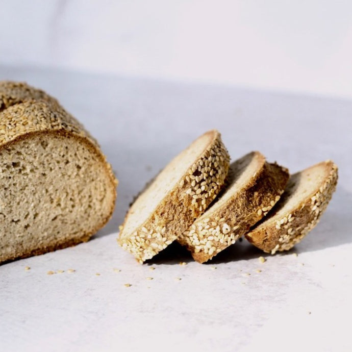 KETO, Gluten Free Bread - Sesame Seed (pack of 2 Loaves)