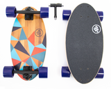 Summit Board Short Longboard - Prism