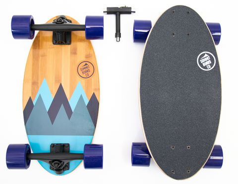 Summit Board Short Longboard - Range