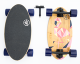 Summit Board Short Longboard - Flamingo