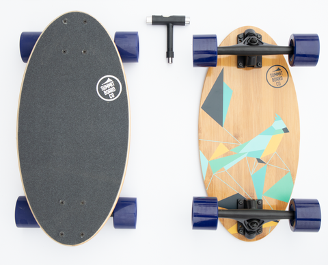 Summit Board Short Longboard - Bird