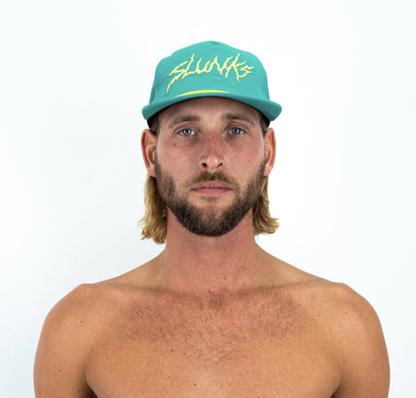 Green Nylon Hat - SLUNKS