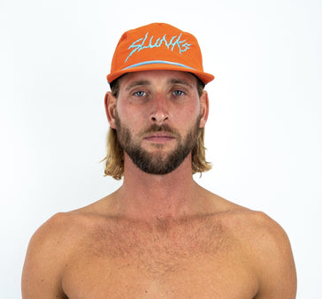 Orange Nylon Hat - SLUNKS