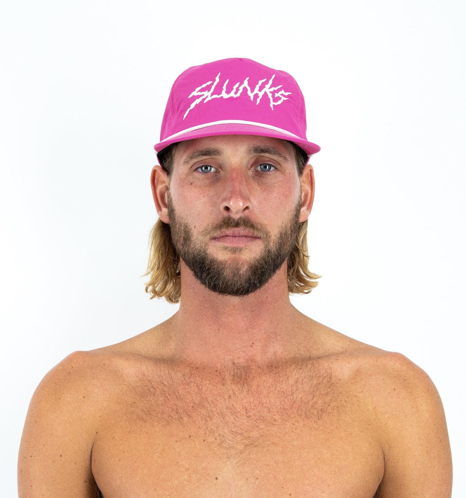 Pink Nylon Hat - SLUNKS