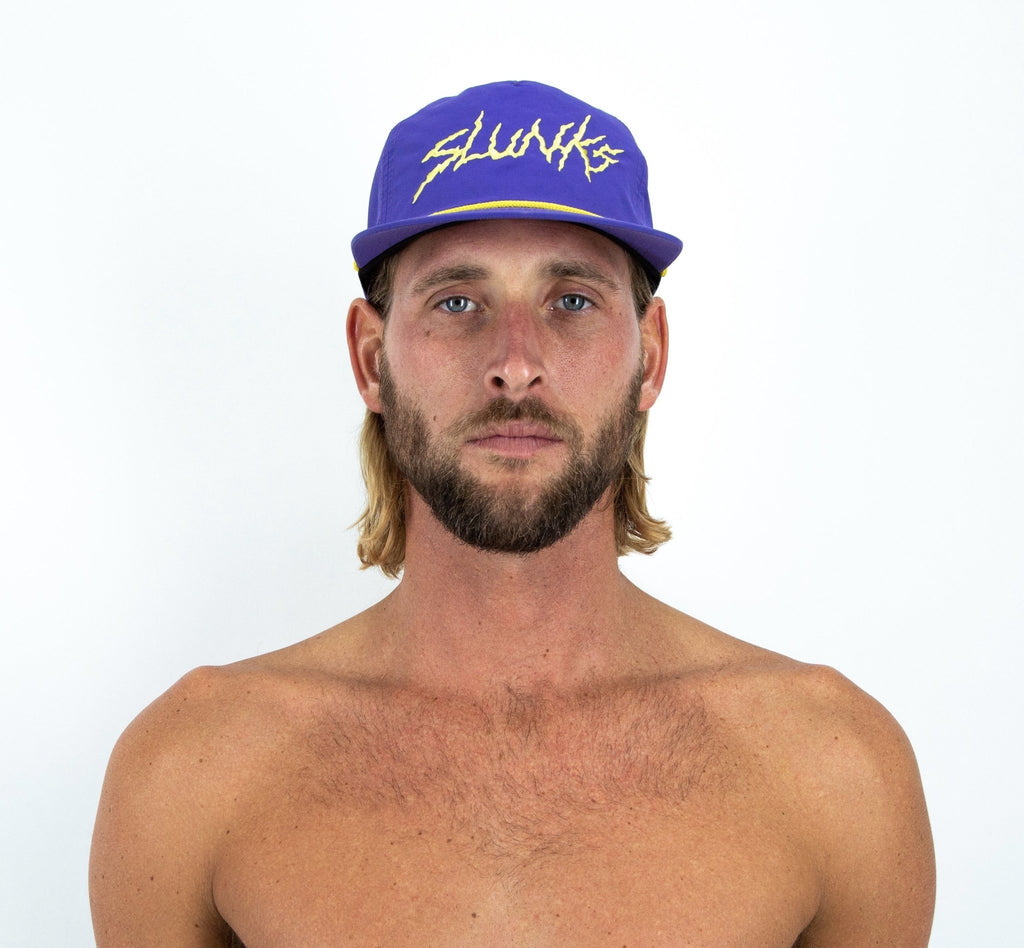 Purple & Gold Nylon Hat - SLUNKS